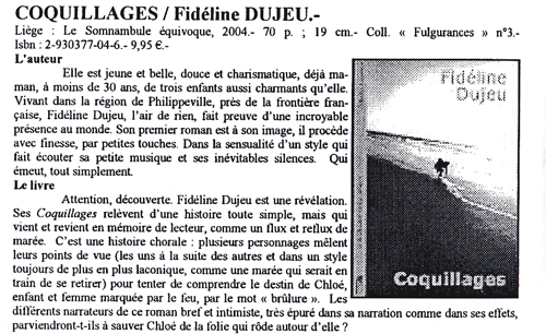 Coquillage - Biblio The Caire